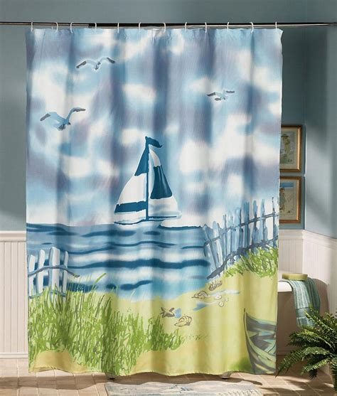 lighthouse shower curtain bring the in with lighthouse bathroom d 233 cor