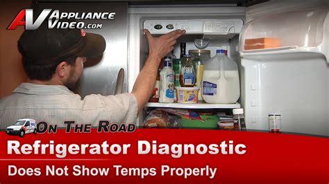 frigidaire phsejsb refrigerator diagnostic