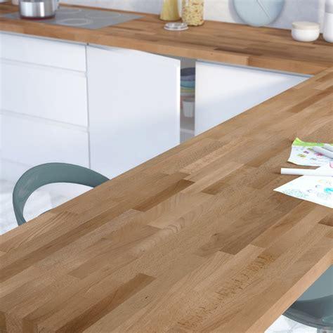 plan de travail bureau leroy merlin plan de travail bois hêtre préhuilé satiné l 300 x p 65 cm