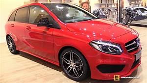 Mercedes Classe B 2016 : 2016 mercedes b class b180 exterior and interior walkaround 2015 frankfurt motor show youtube ~ Gottalentnigeria.com Avis de Voitures