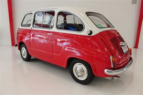fiat multipla for sale 1962 fiat 600 multipla classic italian cars for sale