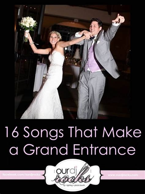 wedding songs grand entrance songs cute wedding ideas