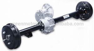 Electric Drive Axle For Electric Golf Carts Transmission