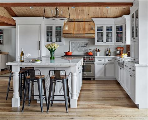 hot trends   farmhouse style kitchens  white  wood