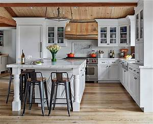 Hot, Trends, 20, Best, Farmhouse, Style, Kitchens, In, White, And, Wood
