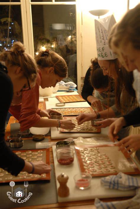 cours de cuisine macarons evjf cours de cuisine janvier 2013 guestcooking cours