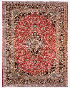 tapis persan classique noue main kashan signe 400 x With tapis persan avec canapé classique