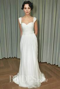 Silky bridal gowns for the second time around i do take two for Second time wedding dress