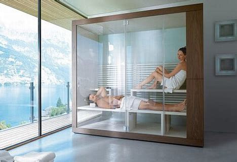 dream bathrooms  saunas showers space permitting