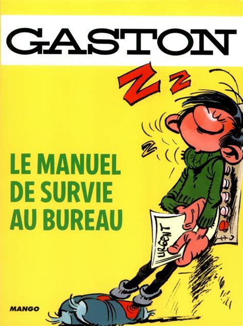 bureau humour gaston le manuel de survie au bureau franquin