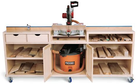 ultimate miter  stand work station update plans