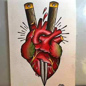 110+ Best Anatomical Heart Tattoo Designs & Meanings - (2018)