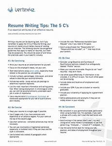 free resume writing tips With best resume tips