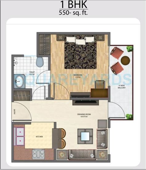 bhk  sq ft apartment  sale  brys indiahomz  rs sq ft noida