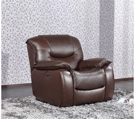 dreamfurniture e9022 modern brown leather lounge chair