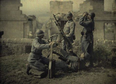 the color war the of former days world war one in colour