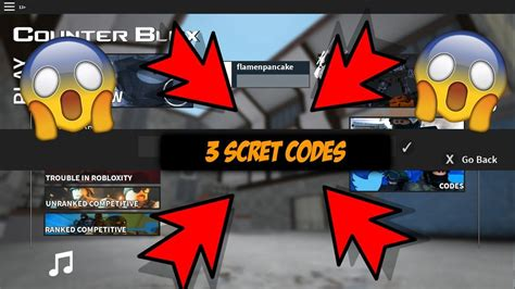 roblox counter blox  codes august  youtube