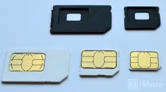 iphone 4 sim card size reminder the iphone 5 needs a new nano sim card it will