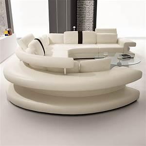 Wohnlandschaft Rund : sofa rund design ~ Pilothousefishingboats.com Haus und Dekorationen