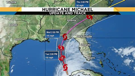 Hurricane Michael Continues To Gain Strength