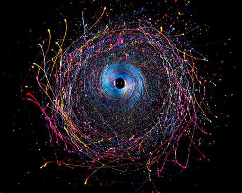 Black Hole – Pintura em Movimento   Studio Lotus Trends