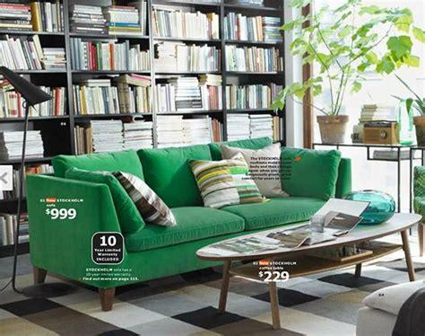 Ikea Stockholm Sofa Green Velvet