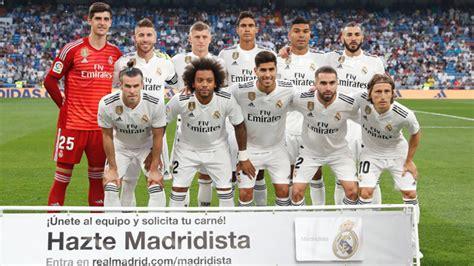 real madrid 187 squad 2017 2018