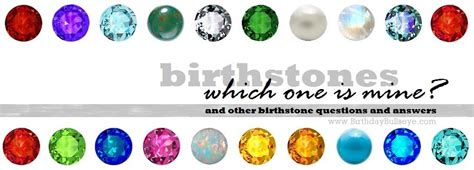 "Birthstone Facts And Faqs  ""what Is The Best Birthstone"