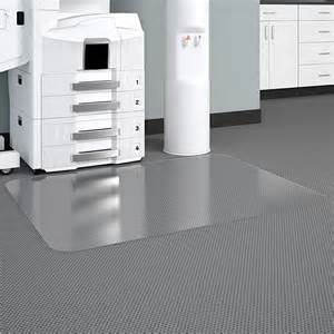deflect o cm33233 deflect o duramat glass clear chair mat