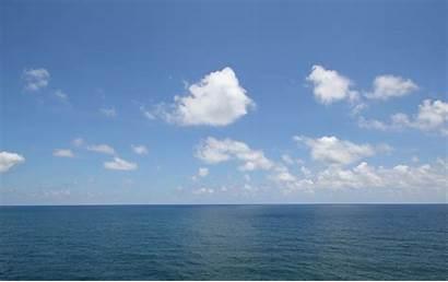 Clouds Ocean April
