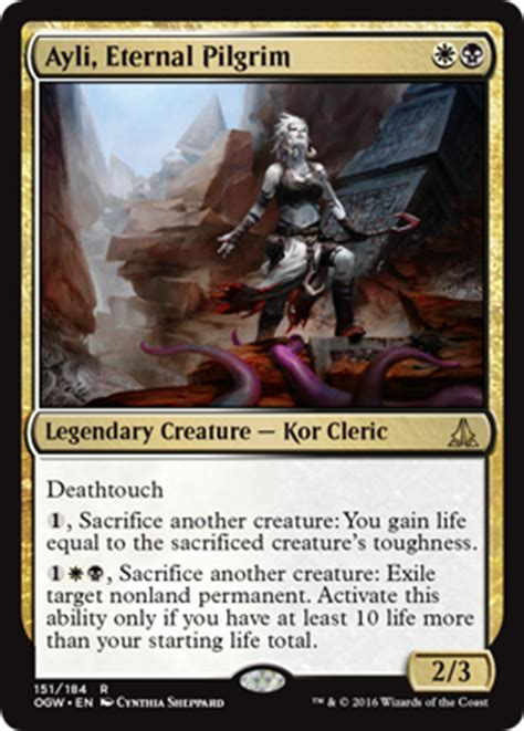 ayli eternal pilgrim from oath of the gatewatch spoiler