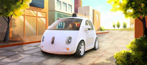 Google Unveils Its First Self-driving Car Prototype