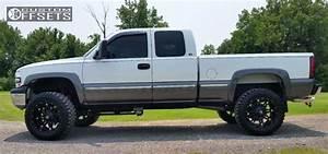 Wheel Offset 2000 Chevrolet Silverado 2500 Aggressive 1