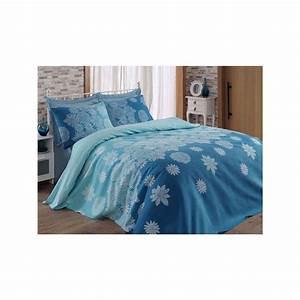Couvre Lit Bleu : eponj home couvre lit bleu brandalley ~ Teatrodelosmanantiales.com Idées de Décoration