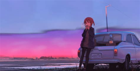 Animated Wallpapers Day - chill study a new day animated uwide wallpaper