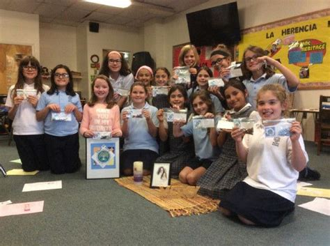 Bay View Academy Collects Rosary Beads