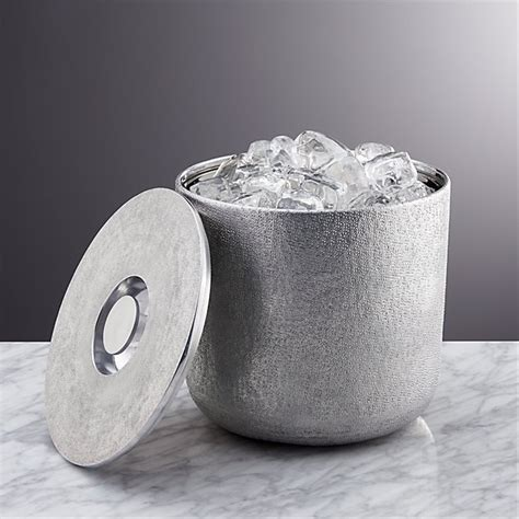 glaze ice bucket crate  barrel