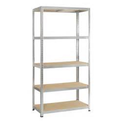 Etagere Pour Armoire Allibert by Avasco 5 Tier Metal Shelving Unit Departments Diy At B Q
