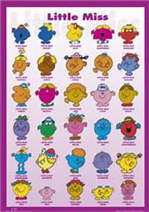 MR MEN AND LITTLE MISS POSTERS, Calendar Toy Action Figure ...
