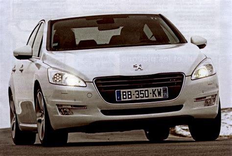 peugeot auto france france april 2011 peugeot 207 back on top 508 in top 20
