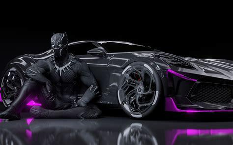 It is a feast of aesthetics, says stephan winkelmann. 3840x2400 Black Panther Bugatti Chiron La Voiture Noire 4k HD 4k Wallpapers, Images, Backgrounds ...
