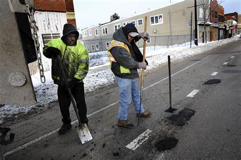 get ready for potholes possible flooding tribunedigital