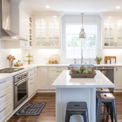 farmhouse style kitchen islands white ikea modern farmhouse style kitchen 7166