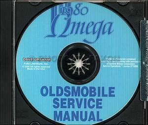 1980 Gm Original Body Manual Buick  Oldsmobile  Cadillac