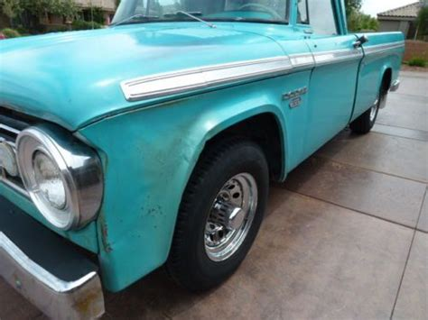 Buy used RARE 1966 DODGE MOPAR D200 ORIGIONAL LOW MILES