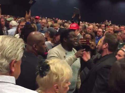 trump rally vegas heil seig