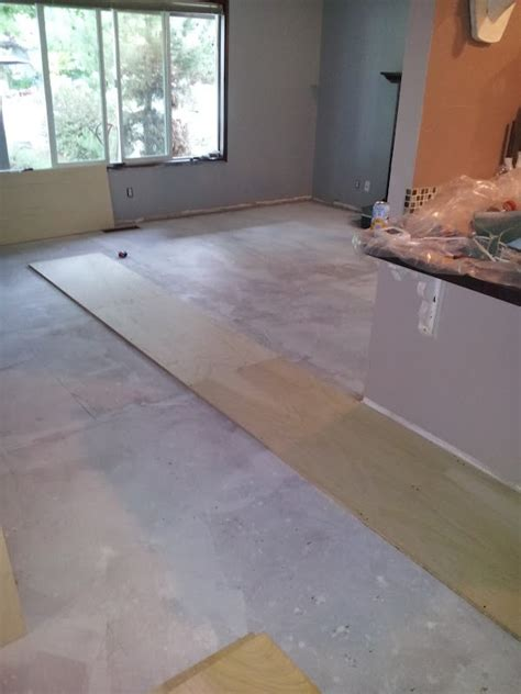 Plywood Flooring Diy Plywood Flooring Pinterest