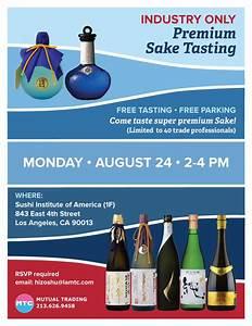 Premium Sake Tasting Event