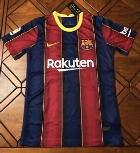 FC Barcelona Jersey Lionel Messi #10 La Liga Edition 2021 ...