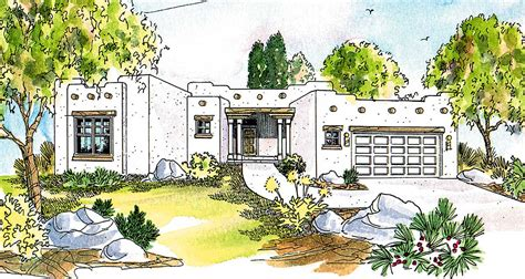 pueblo style house plans pueblo style house plan 72191da architectural designs